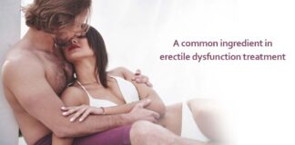 A common ingredient in erectile dysfunction treatment